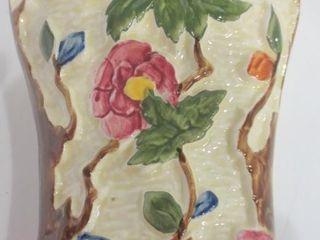 ART DECO RADFORD  ENGlAND  PORCElAIN WAll POCKET