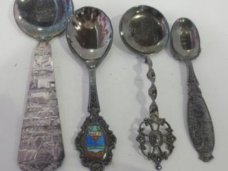 NORWAY SIlVER PlATE SPOONS