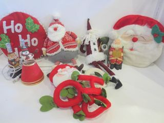 CHRISTMAS DECORATIONS  lAMPS  CUSHIONS