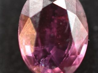 ONE OVAl MIXED CUT NATURAl SAPPHIRE  1 26 CARAT