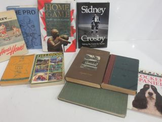 BOOKS ON HOCKEY  SCOUTING  NOVElS