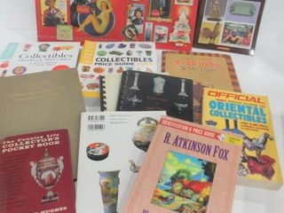 BOOKS ON ANTIQUES AND COllECTIBlES   FlEA MARKETS