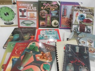 BOOKS ON ANTIQUES AND COllECTIBlES   DEPRESSION