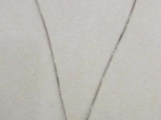 STERlING FACE PENDANT WITH STERlING CHAIN   20