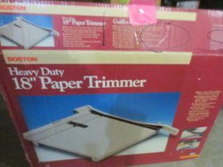 BOSTON HEAVY DUTY 18  PAPER TRIMMER