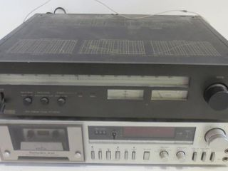 TECHNICS STEREO TUNER ST 9030 AND CASSETTE PlAYER