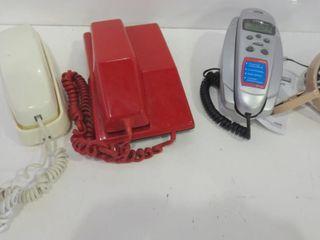 PUSH BUTTON DESK PHONES