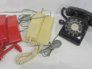 ROTARY AND PUSH BUTTON PHONES