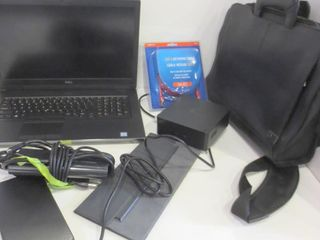 DEll lAPTOP WITH ADAPTOR AND CASE