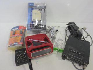 NEXXTECH 7 PORT HUB  USB CABlES  VHF TRANSCEIVER