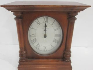 HOWARD MIllER DUAl CHIME BATTERY OPERATED ClOCK