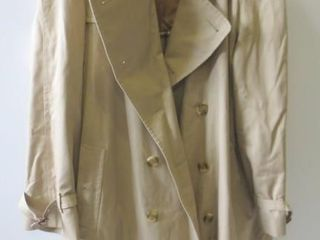 BURBERRY TRENCH COAT WITH ZIP IN WINTER lINING