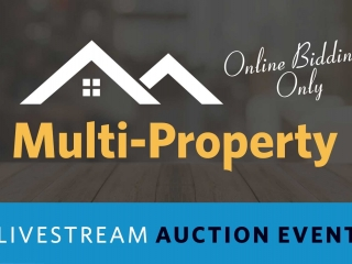 Multi-Property Live Stream Auction | 39 Properties