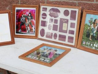 Picture Frame And Framed Mirror Lot