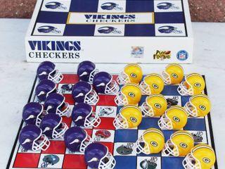 Viking NFL Checkers