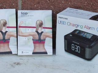 2 Ergonomic Poster Correction And USB Charging Alarm Clock