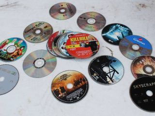 DVD Movies And Software Lot