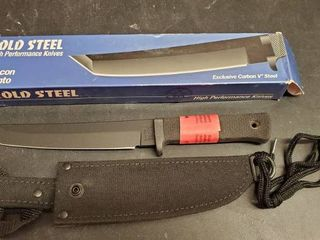 Recon Tanto Cold Steel 6 5in Fixed Blade Knife