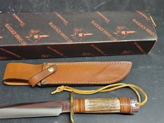 Prairie Fighter 6in Fixed Blade Knife