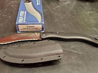 Cold Steel Vaquero Grande  21GNS Knife
