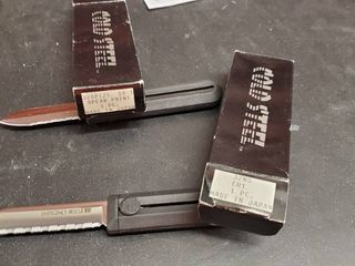 2  Cold Steel Box Knives
