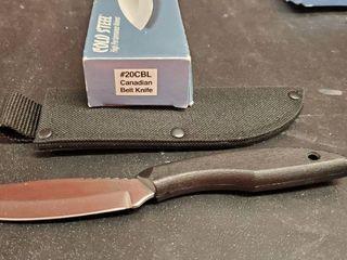 Canadian Belt Knife  20CBl