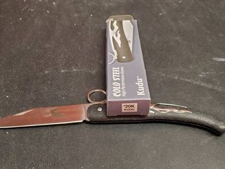 Cold Steel Kudu Folding Knife  20K