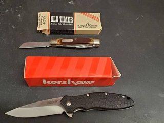 Kershaw Folding Knife  Old Timer Folding Knife