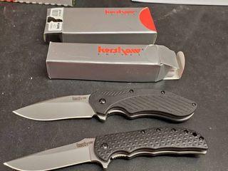 2  Kershaw Folding Knives