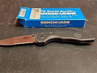 Benchmade 835S Drop Point Knife