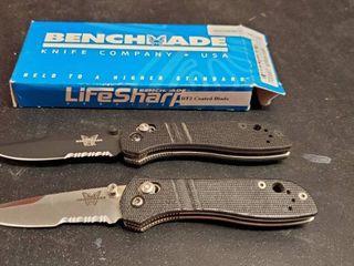 2  Benchmade 705SBT Knives