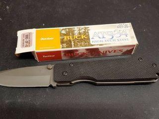 Buck ATS 34 Tactical Folding Knife