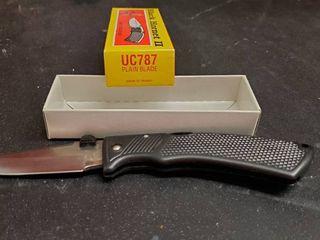 Black Hornet UC787 Folding Knife