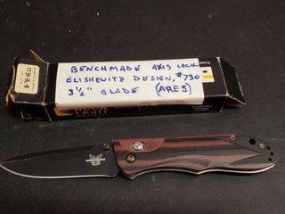 Benchmade 3 1 2in Model 730