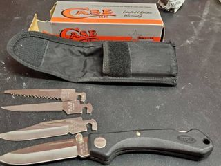 Case XX Knife With Extra Blades