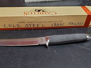 Cold Steel 13AN Tanto Fixed Blade