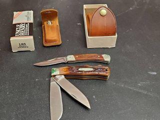 Uncle Herny Pocket Knife  Western Pocket Knife