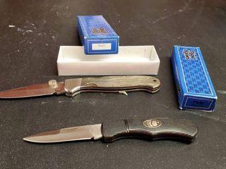 2  Rigid Pocket Knives