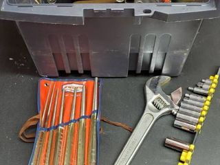 Various Tools With Box