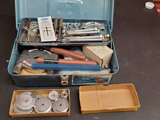 Metal Toolbox With Pulley Hardware