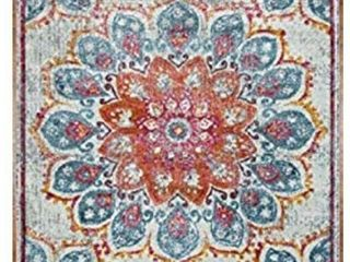 MSRUGS Pomegranate Bloom Vintage Area Rug  5X7