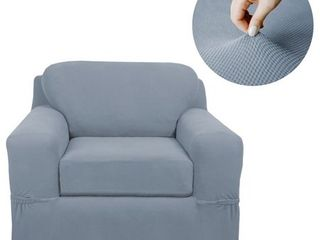 Zenna Home Pixel Stretch 2 Piece Chair Furniture Cover Slipcover