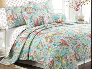 Porch   Den Bajada Paisley Reversible Quilt Set Full Queen