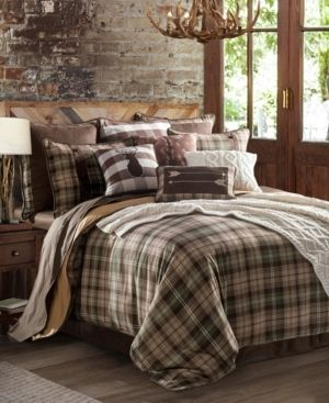 Huntsman 4 Pc Full Comforter Set Bedding