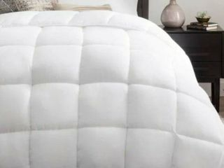 King Size Brookside Down Alternative Reversible Quilted Comforter with Duvet Tabs
