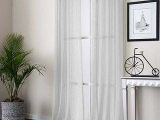 Payton 52  x 63  Panel  Semi Sheer