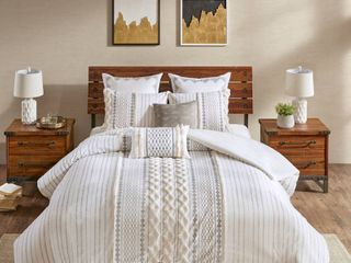 Ink Ivy Imani 3 Pc  Full Queen Cotton Duvet Cover Mini Set Bedding