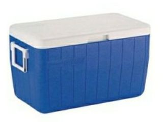 Coleman 48 Quart Performance 3 Day Heavy Duty Cooler  Blue