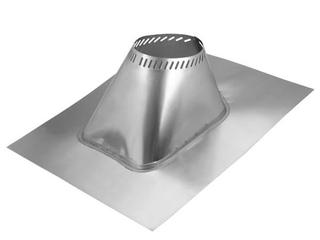 Selkirk Corporation 6T AF6 6 Inch Ultra Temp Roof Flashing Adjustable   for 2 12 to 6 12 pitch