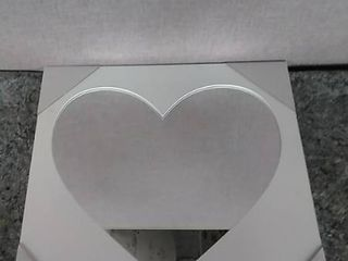 Mirror Patton wall decor heart cutout for your wall